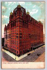 The Waldorf Astoria Hotel in New York City Undivided Back Postcard Unused