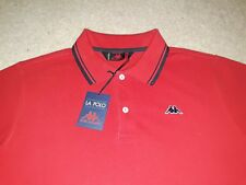 MENS ROBE DI KAPPA slim fit SHORT SLEEVED POLO SHIRT SIZE L casuals DRESSERS