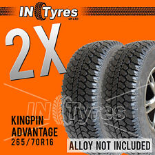 2x 265/70R16 Advantage All Terrain Tyres Two 265 70 16 AT x2 Fitting Available