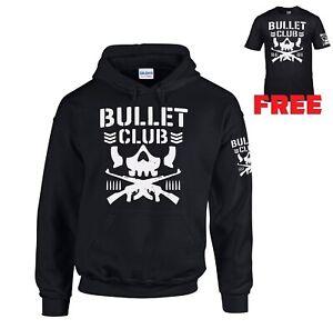 KIDS BONE SOLDIER BULLET CLUB NJPW WRESTLER HOODIE HOOD SWEATSHIRT + **FREE TEE*