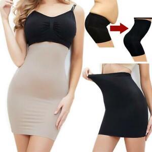High Waist Half Slip For Women Under Dress Shapewear Tummy Control Body Shaper