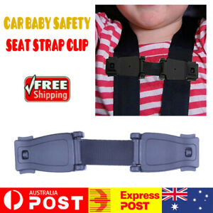 Buggy Buckle Lock Car Safety Seat Strap Clip Elastic Harness Chest Baby Child