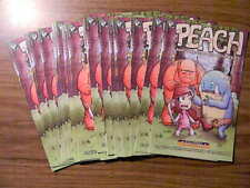 1 PEACH & ISLE OF MONSTERS Halloween Comic Fest 2016 Lot: 20 ISSUES! UNSTAMPED!