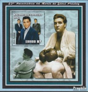 Mozambique block145 unmounted mint / never hinged 2002 Elvis Presley