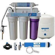 Osmoseur domestique 5 étapes de filtration 100 GPD