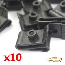 10X Bumper Fender Nylon Clip U Nut #12 Screw Retainer 9046705114 For Toyota