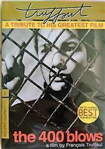 The 400 Blows (1959) DVD R0 - Francois Truffaut, Classic French Drama
