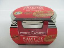 Sardinen Rillettes mit Tomaten 125 g von Mouettes d´Arvor