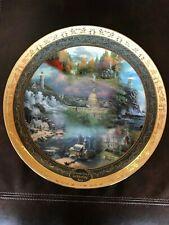 From Sea to Shining Sea, Thomas Kinkade 2003 Gold Collector Plate