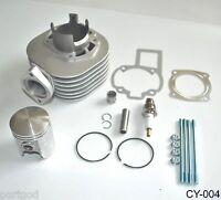For SUZUKI LT80 80 CYLINDER PISTON KIT RINGS GASKETS PIN TOP END SET 1987-2006