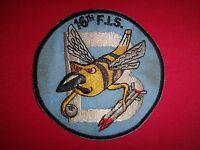 "Korea War (1950-53) US ""B"" (Bee) 16th Fighter Interceptor Squadron Patch"