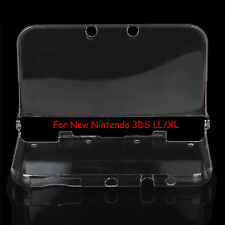 Clear Crystal Hard Case Shell Cover Protective Guard for New Nintendo 3DS LL XL