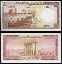 LEBANON 1 Livre P55b UNC ***