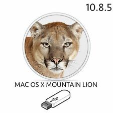 mac osx mountain lion 10.8.5 installation full macbook pro air imac bootable fix