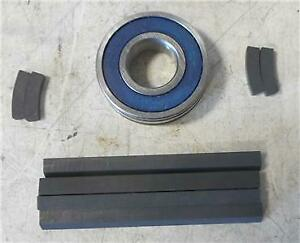 1968-89 Ford models NEW Smog Air Pump rebuild kit with bearing and carbon strips