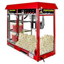 Popcornmaschine Popcornautomat Popcornmaker Popcorn Maschine  beheizte Auslage