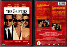 DVD Stephen Frears THE GRIFTERS Anjelica Huston John Cusack WS SE R1 OOP NEW