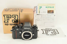*UNUSED(NEW)* Nikon F3 HP Camera Body S/N 2000025 from Japan #0742