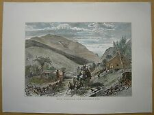 1872 print MOUNT WASHINGTON FROM CONWAY ROAD, NEW HAMPSHIRE (#152)