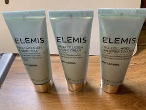 ELEMIS Pro Collagen Marine Mask Marine Cream Marine Overnight Set