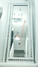 Silver Crystal Sparkly WHITE Wall Mirror Extra Large 180x70cm Full Length Tall