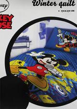 Trapunta Piumone Letto Singolo Mickey Music Disney Topolino 100% Cotone
