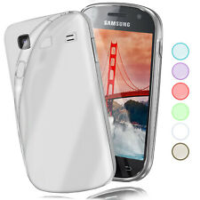 Silikon Case für Samsung Galaxy S Schutz Hülle Transparent Thin TPU Back Cover