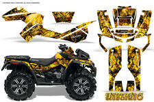 CAN-AM OUTLANDER XMR 500 650 800R GRAPHICS KIT DECALS STICKERS INFERNO Y