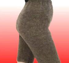 Woolen XL Gray taupe Women's Knit Pantaloons Shorts Therapeutic, Wool sheep #10