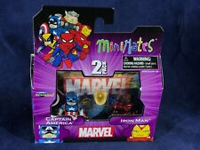 X2-20 MINIMATES ACTION FIGURE 2-PACK - CAPTAIN AMERICA & IRON MAN - MARVEL
