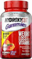 Hydroxycut Non-Stimulant Weight Loss Mixed Fruit Gummies, 90 Count Caffeine Free