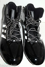 ADIDAS AS SMU CRAZYQUICK M FOOTBALL CLEATS SHOES MEN SZ 15 CLEAT BLACK