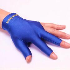 Snooker Billiard Cue Spandex Gloves Pool Left Hand Open Three Finger Glove Noted