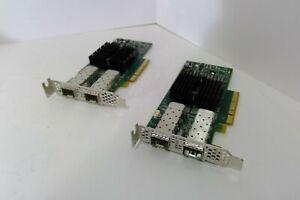 PAIR OF 98Y2404 IBM Mellanox 98Y2404 Dual Port 10GB Network Adapter Low Brackets