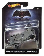 2016 Hot Wheels 1/50 Scale Batman v Superman Batmobile Diecast Vehicle