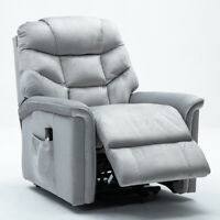 WATERPROOF FABRIC ELECTRIC POWER LIFT CHAIR RECLINER SOFA ARMCHAIR LOUNGE CHAIR