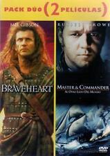 PELICULA DVD PACK BRAVEHEART + MASTER & COMMANDER