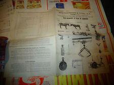 Materiel Manutention Fourrage Agricole et Fumier Brenckmann et Ittel Colmar 1940