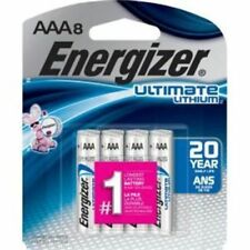 Energizer Ultimate Lithium AAA Batteries 8 Count