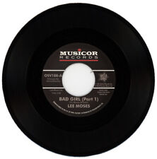 """LEE MOSES  """"BAD GIRL (PART 1) c/w BAD GIRL (PART 2)""""    NORTHERN SOUL"""