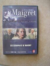 44676 //MAIGRET LA COLLECTION LES SCRUPULES DE MAIGRET DVD EN TBE