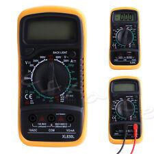 Mini Digital LCD Volt Ammeter Ohmmeter AC DC Meter Voltmeter Multimeter Tester