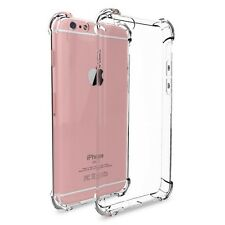 New Transparent Crystal Clear Gel TPU SHOCKPROOF Bumper Case For Apple iPhone 7