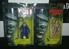 "2001 Hasbro Planet Of The Apes ""Daena"" and ""Limbo""  6in. Action Figures"