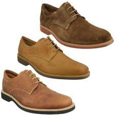 Zapatos de vestir de hombre en color principal marrón de ante