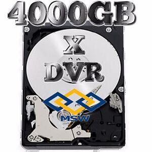 "HARD DISK HD 4000GB 4TB 7200RPM SATA 3.5""SISTEMI DI VIDEOSORVEGLIANZA DVR NVR"