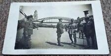 Marshal Foch & General Robertson in Cologne - WW1 1919 Real Photo Postcard