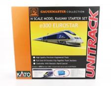 More details for gaugemaster gm2000102 n gauge eurostar e300 12 car premium train set