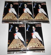 5 Packs Battle of the Planets Trading Cards by Dynamic Forces, 7 cards per pack