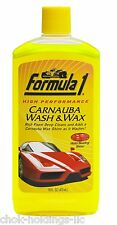 Formula 1 615016 Carnauba Car Wash and Wax - 16 oz.